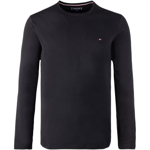 TOMMY HILFIGER Langarmshirt schwarz