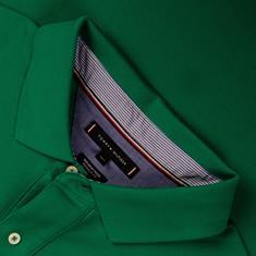TOMMY HILFIGER Poloshirt grün