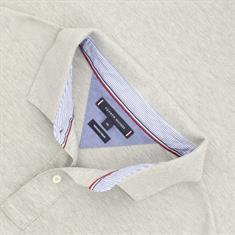 TOMMY HILFIGER Poloshirt grau-meliert