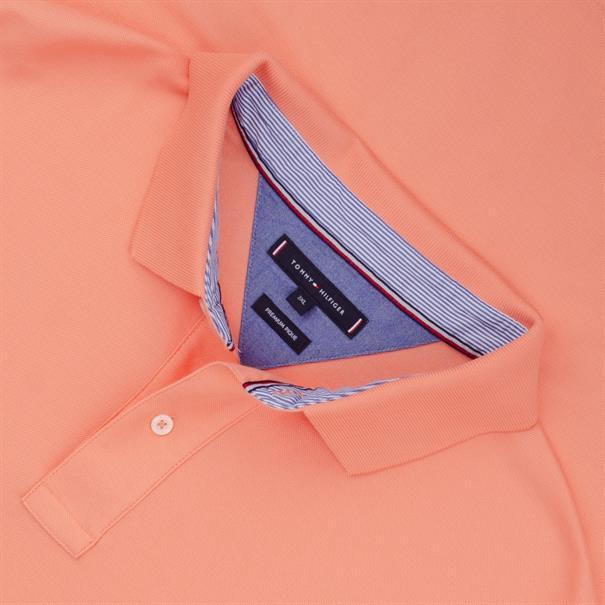 TOMMY HILFIGER Poloshirt lachs