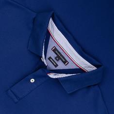 TOMMY HILFIGER Poloshirt royal-blau