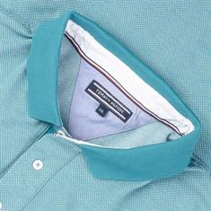 TOMMY HILFIGER Poloshirt türkis
