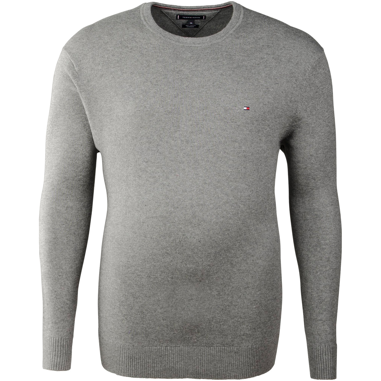 1c6f8aad32fb53 TOMMY HILFIGER Pullover grau Herrenmode in Übergrößen kaufen