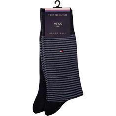 TOMMY HILFIGER Socken, Doppelpack blau