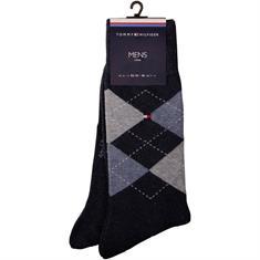 TOMMY HILFIGER Socken, Doppelpack grau