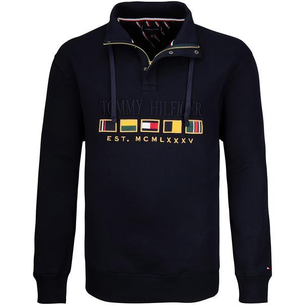 TOMMY HILFIGER Sweatshirt dunkelblau