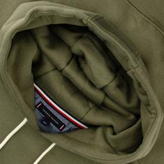 TOMMY HILFIGER Sweatshirt dunkelgrün