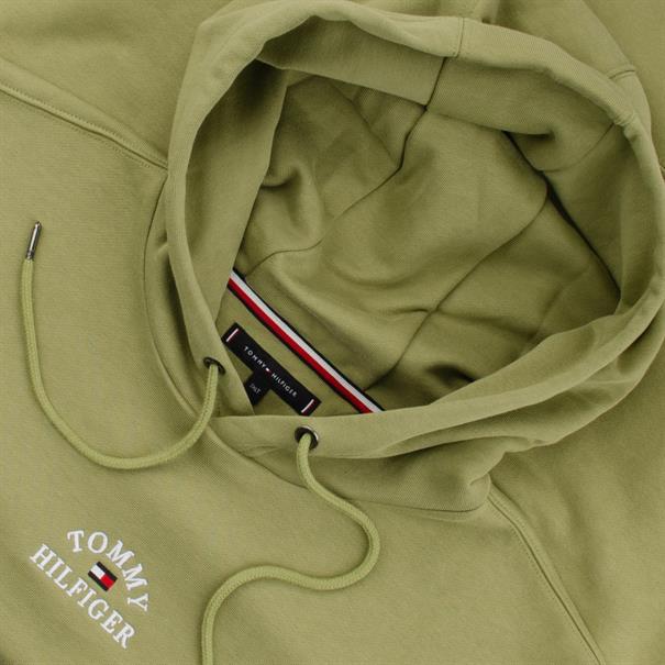 TOMMY HILFIGER-Sweatshirt oliv