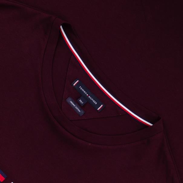 TOMMY HILFIGER T-Shirt bordeaux