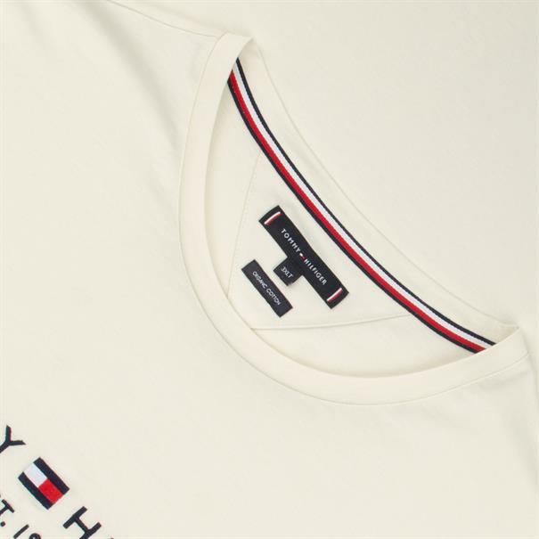 TOMMY HILFIGER T-Shirt creme