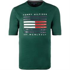 TOMMY HILFIGER T-Shirt grün