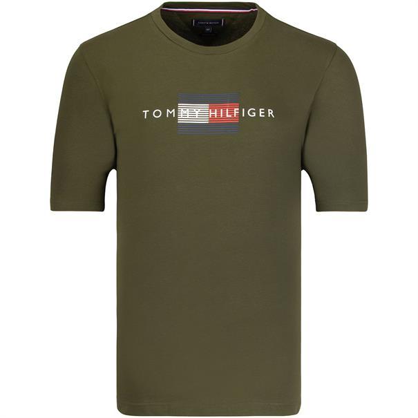 TOMMY HILFIGER T-Shirt oliv