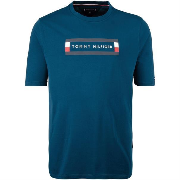 TOMMY HILFIGER T-Shirt petrol