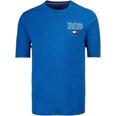 TOMMY HILFIGER T-Shirt royal-blau