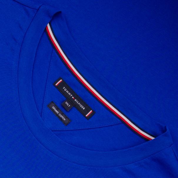 TOMMY HILFIGER T-Shirt royal-blau