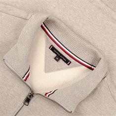 TOMMY HILFIGER Troyer-Sweatshirt grau