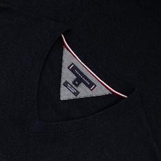 TOMMY HILFIGER V-Pullover anthrazit
