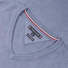 TOMMY HILFIGER V-Pullover blau