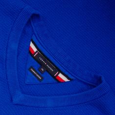 TOMMY HILFIGER V-Pullover royal-blau