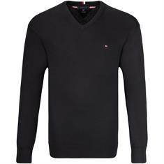 TOMMY HILFIGER V-Pullover schwarz
