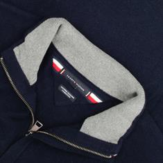 TOMMY HILFIGER Zipper-Pullover marine