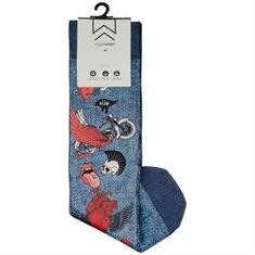 WIGGLESTEPS Socken blau